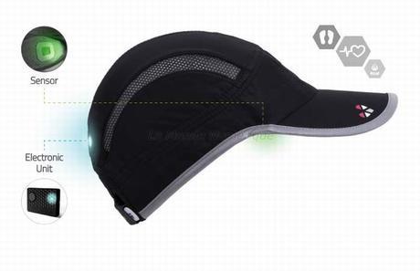 Sportifs : Choisissez la casquette connectée Lifebeam Smart Hat pour suivre votre activité