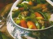 Petit ragoût légumes nouveaux parfum d'estragon piment d'Espelette.