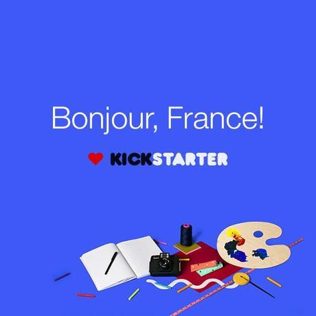 Financement participatif, Kickstarter débarque en France