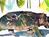 illustrations l'aquarelle très détaillées Marcel George
