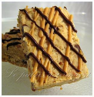Barres biscuits à l'avoine, au chocolat et beurre d'arachide Reese