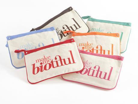 pochette coton bio MY Biotiful Bag
