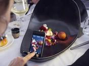 restaurant propose assiettes conçues pour prendre votre plat photo