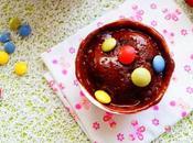 cake fondant chocolat smarties