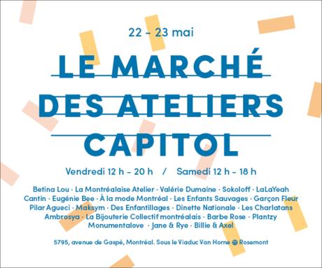 #ModeMtl : retour du Marché des Ateliers Capitol