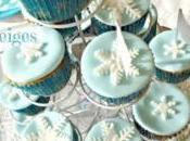 Cupcakes Reine Neiges Sans gluten sans lait