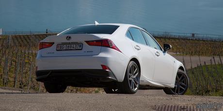 Essai Lexus IS 300h F Sport