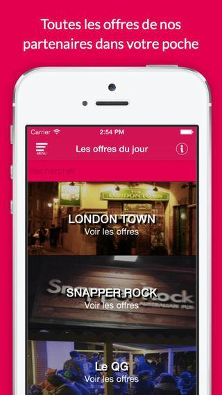 Screen 1 iOS