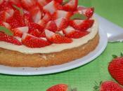 Tarte sablée fraises