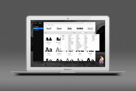 Fontstand: un gestionnaire élégant de polices sous Mac