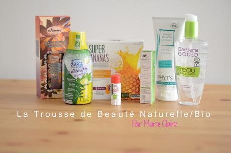 Unboxing: Le Trousse de Beauté Naturelle/Bio par Marie Claire