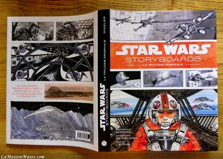 [Artbook] Star Wars Storyboards – Dessins de la Trilogie Originale
