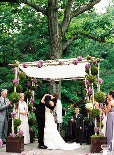 boules-mousse-verte-ceremonie