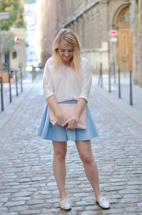 Blue Patineuse