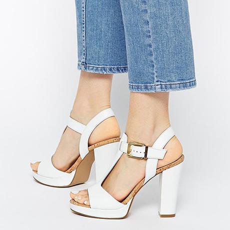 Sandales style  à plateformes