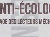 """""""Petit traité d'anti-écologie l'usage lecteurs méchants"""""""