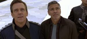Hugh Laurie et George Clooney - Tomorrowland -  Disney