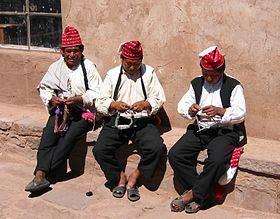 Les hommes de Taquile