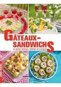 Sandwich-cake au saumon et livres Apéro de chef à gagner