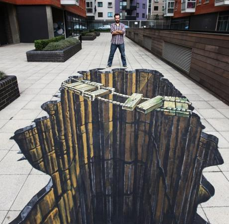 Street Art : les illusions vertigineuses