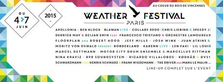MUSIC: Weather Paris Festival 2015, OFF & ON