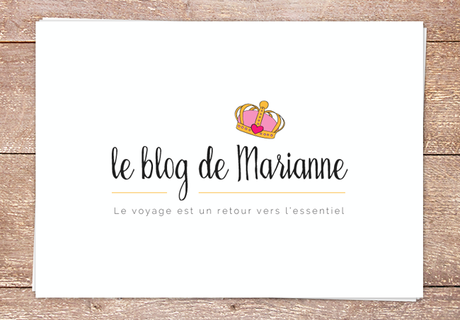 Design : Le blog de Marianne