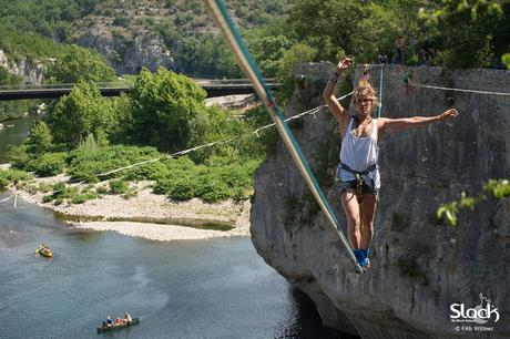 Ardèche Slackline Meeting à la cool