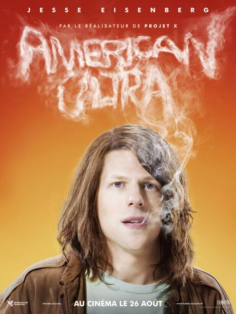 AMERICAN ULTRA - JESSE EISENBERG -nouveau poster