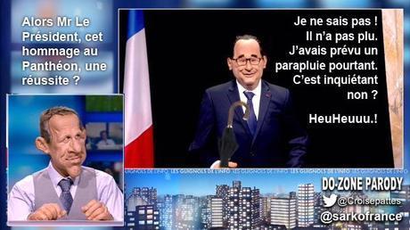 421ème semaine politique: Hollande ou Sarkozy, la politique en spectacle