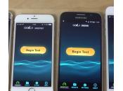 iPhone Galaxy test rapidité Internet (vidéo)
