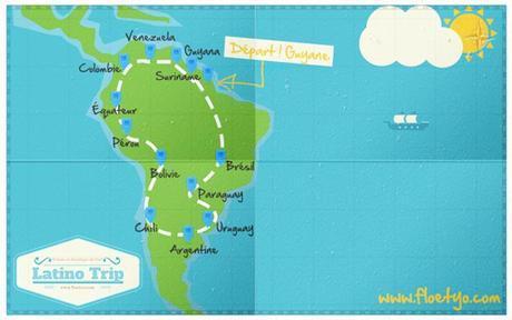 Voyager à travers l'Amérique du Sud…en van!