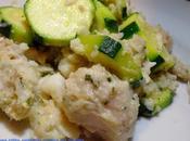Poelée Poissons, Courgettes sauce Amandes