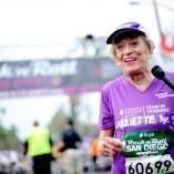 A 92 ans, elle termine un marathon