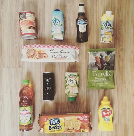 Degustabox : le contenu de la box de mai 2015