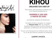 Event Strasbourg Meet-up avec Youtubeuse Kihou Galeries Lafayette