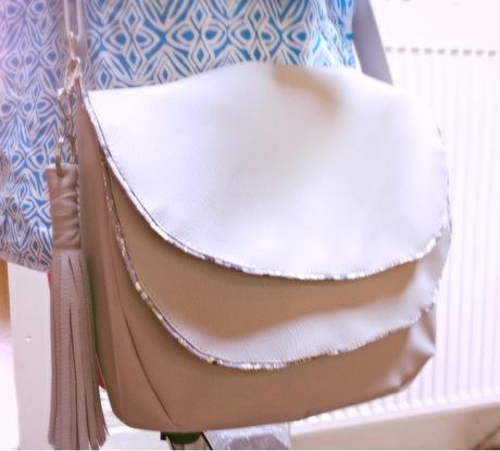 Besace musette sa coton