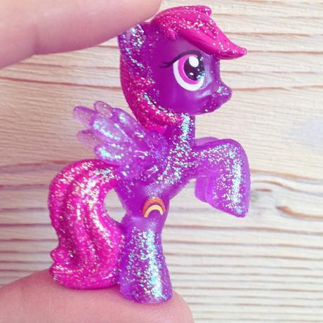 Figurine Rainbow Shine - collection glitter