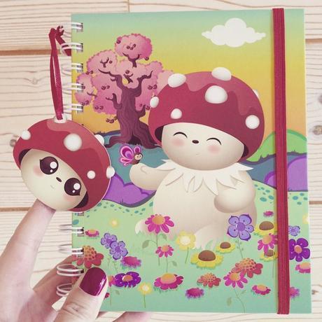Joli cahier Tulipop avec Bubble