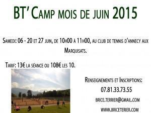 BT'Camp Juin 2015