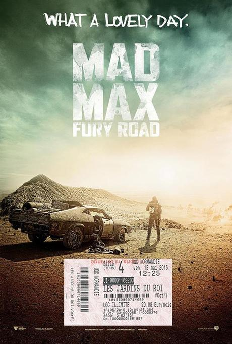 Critique Mad Max Fury Road