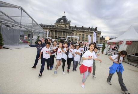 No Finish Line Paris by Siemens - Photo © Christophe Guiard.