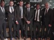 joueurs Juventus visite dans usines Hublot