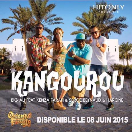 Kenza Farah : 'Kangourou', son nouveau single avec Big Ali !