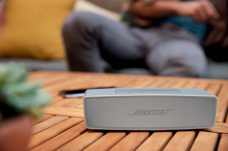 Enceinte nomade Bose Sound Link Mini II avec microphone pour faire kit mains-libres