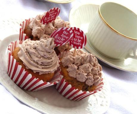 Cupcakes topping cacao