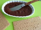 """tartinade saveur """"crème marron"""" konjac seulement kcal (diététique, sans gluten, beurre sucre, riche fibres)"""