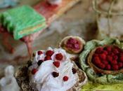 Maison poupée-les gâteaux Dollhouse- Pies cakes