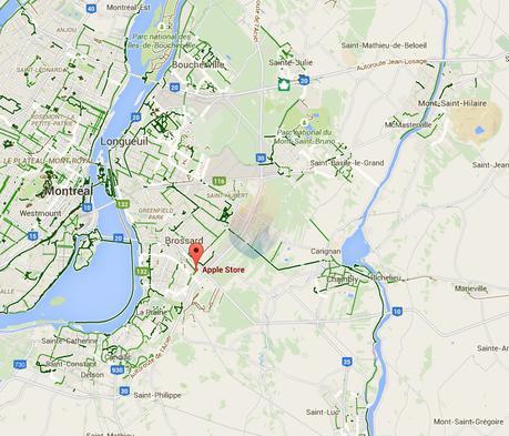 Astuce: partager son emplacement sur Messenger, Plans et Google Maps
