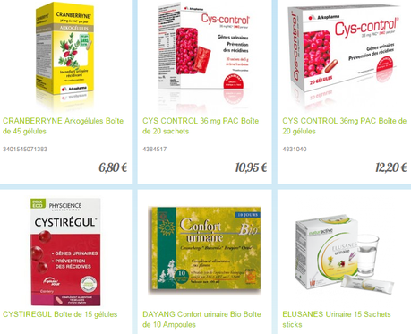 confort urinaire selection