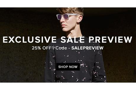 END. 25% OFF EXCLUSIVE SALE PREVIEW
